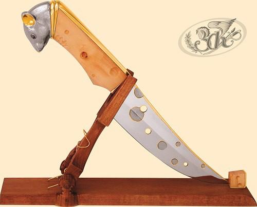 Украшенное оружие - Ножи. (25 фото)