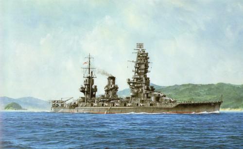 Имперские японские военные корабли. Часть 3. (25 фото)
