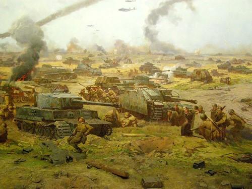 Центральный музей Великой Отечественной войны. Диорама «Курская дуга». (13 фото)