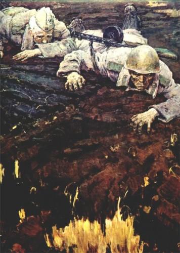 война в живописи: