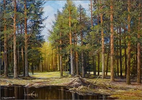 Работы художника Олега Чиженкова. (14 фото)
