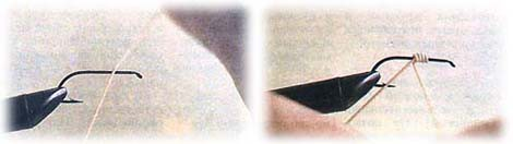 Инструменты и материалы для вязания мушек.