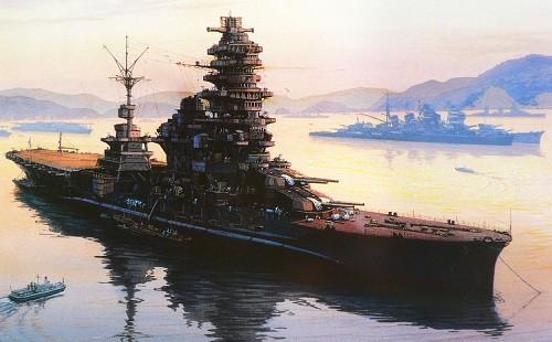Имперские японские военные корабли. Часть 4. (25 фото)