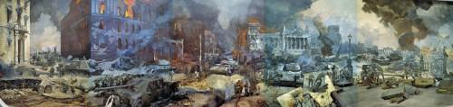Центральный музей Великой Отечественной войны. Диорама «Штурм Берлина». (21 фото)