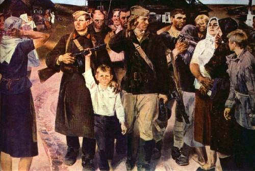 Картины о Великой Отечественной войне. Часть 10. (20 фото)