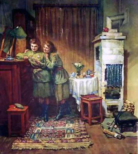 Картины о Великой Отечественной войне. Часть 12. (23 фото)