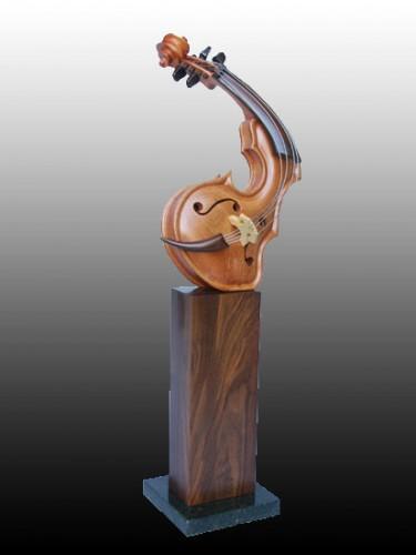Скульптуры Philippe Guillerm скрипки или люди? (39 фото)