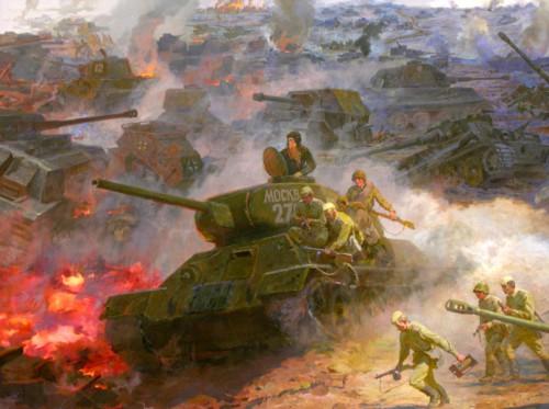 Курская битва сценарий митинга