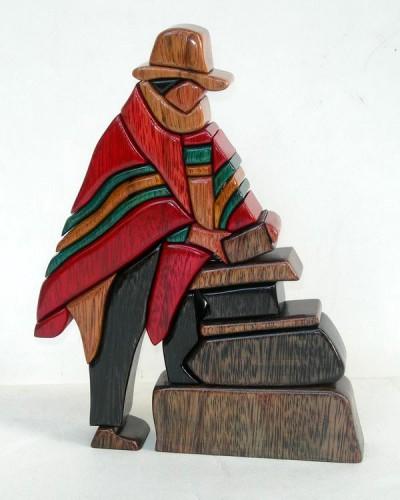 Интарсия. Фольклор Перу. Горный регион - Сиерра. (35 фото)
