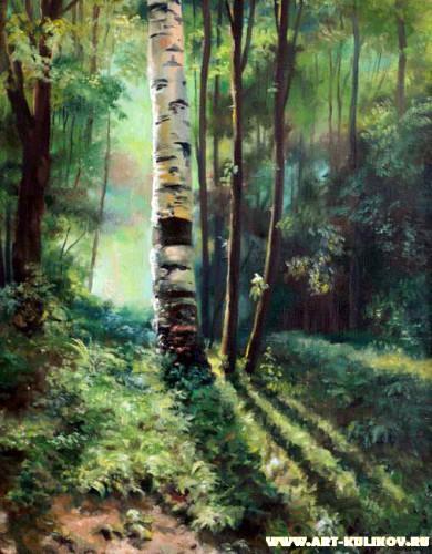 Работы художника Владимира Куликова. Пейзаж. Часть 3. (24 фото)