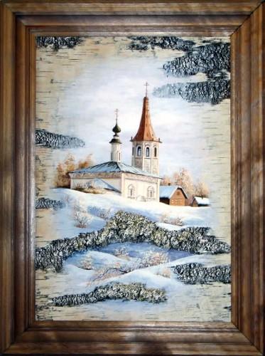 Картины на бересте Сергея Сурина. Часть 3. (30 фото)