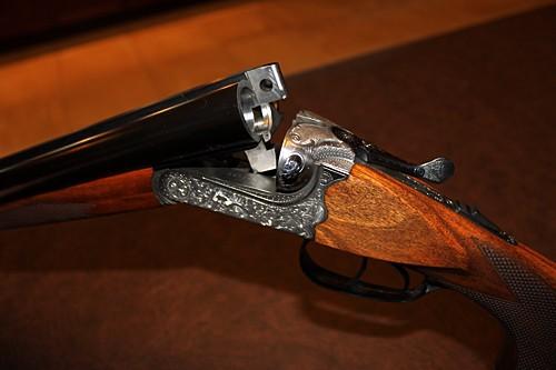 охотничие курковые ружье со знаком jk