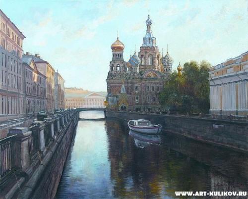 Работы художника Владимира Куликова. Петербург - времена года. Часть 4. (12 фото)