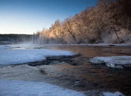 Природный календарь рыболова по месяцам. Январь.