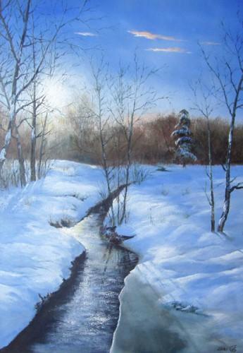 Сергея зимние пейзажи 14 фото