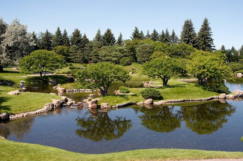 Японский Сад Никка Юко. (Канада, Альберта). Часть 1. (30 фото)