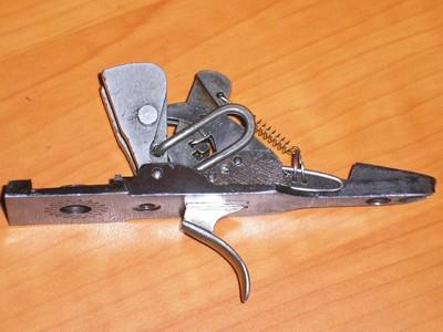 Заметки по ТОЗ-34 (ставим один спусковой крючок).