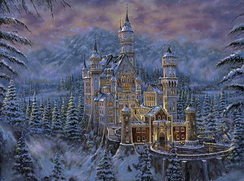 Зимние пейзажи от Robert Finale. (10 фото)