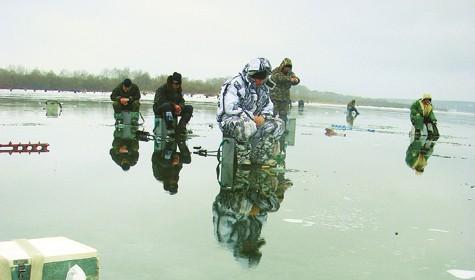Зимой на течении. Часть 1. Условия рыбалки и оснащение.
