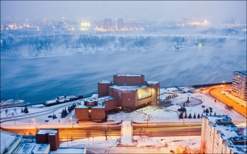 Высотный Красноярск. (49 фото)