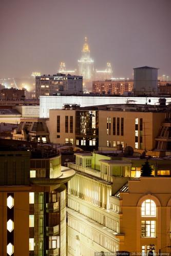 Крыша Ritz Carlton. (21 фото)