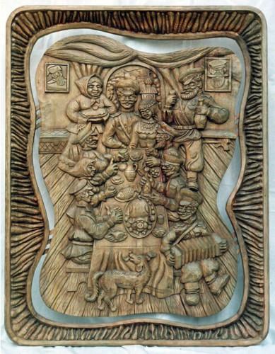 Авторские работы резчика по дереву Сухорукова Геннадия Сергеевича. Часть 1. (20 фото)