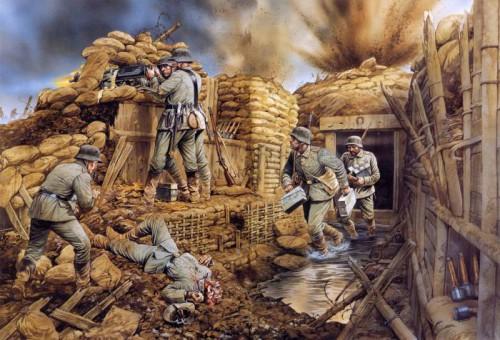 Война в рисунках. Часть 4. (29 фото)