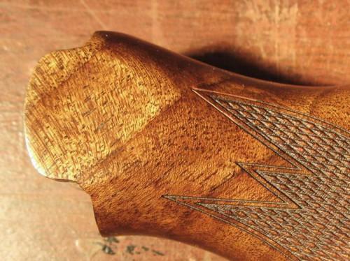 Ремонт трещины шейки приклада.