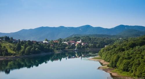 Хорватия. Плитвицкие озера. (32 фото)