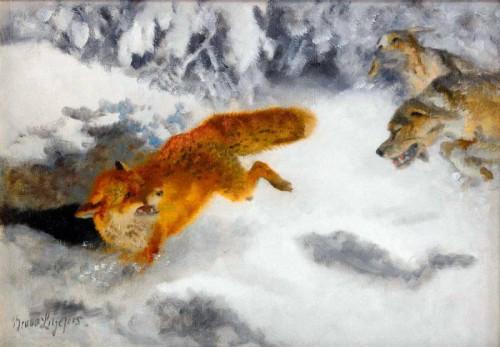 Работы художника Бруно Лильефорс. Часть 1. (30 фото)