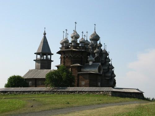 Церковь Преображения Господня в Кижах. (31 фото)