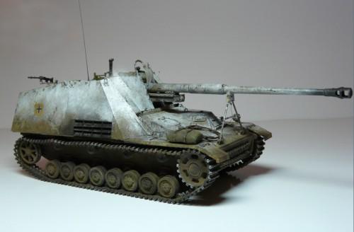 "Работа Глеба Васильева. ""Sdkfz 164 Nashorn"". (9 фото)"