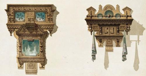 Мотивы русской архитектуры (1874 г. - 1879 г.). Часть 2. (34 фото)