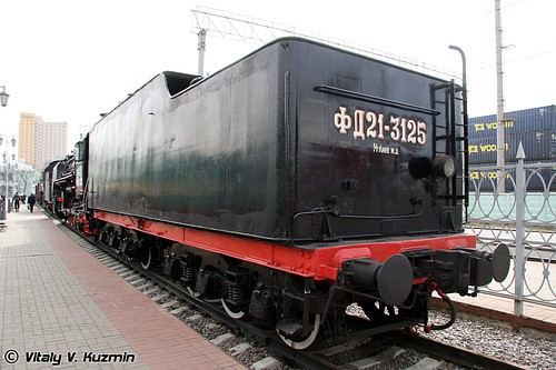 Музей истории железнодорожной техники Московской железной дороги (МЖД). Часть 1. Паровозы. (32 фото)