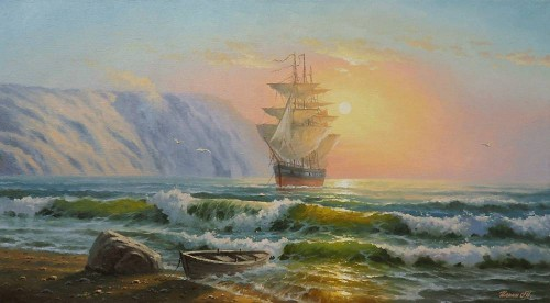 Работы художника Ильина Максима Алексеевича. (19 фото)