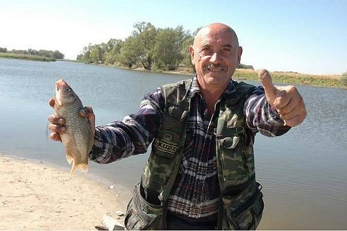 рыбалка на колпачок