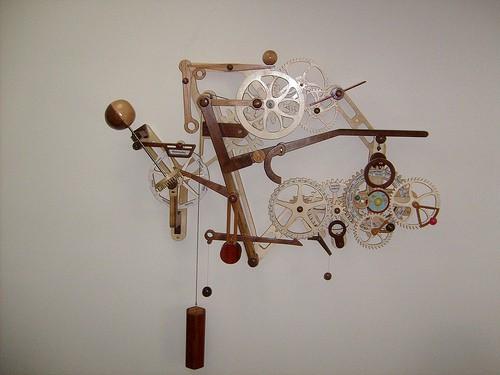 Деревянные часы. Подборка работ разных мастеров. (35 фото)