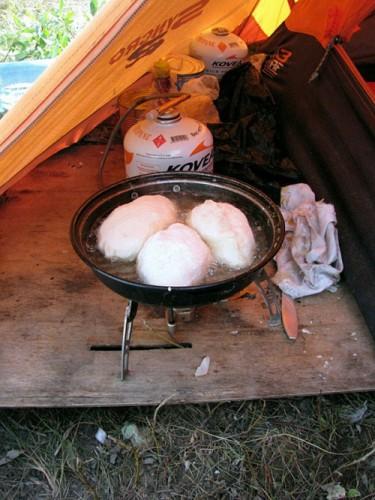 Полевая кухня рыбака. (41 фото)