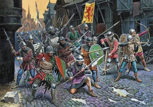 Эпоха битв в рисунках. Часть 2. (25 фото)