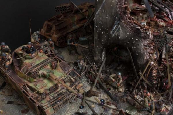 """Работа Shigeyuki Mizuno. """"Чёрные руины"""". (7 фото)"""