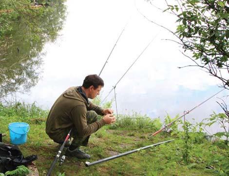 ловля осенью на ямах