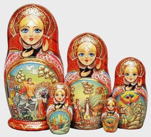 Русская матрёшка. Часть 1. История происхождения. (16 фото)