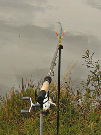 Рыбалка с пикерным удилищем