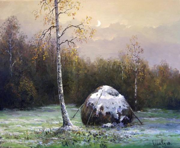 Работы художника Малярчука Станислава. Осенние пейзажи. (14 фото)