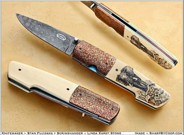 Подборка холодного оружия. Авторские работы. (30 фото)