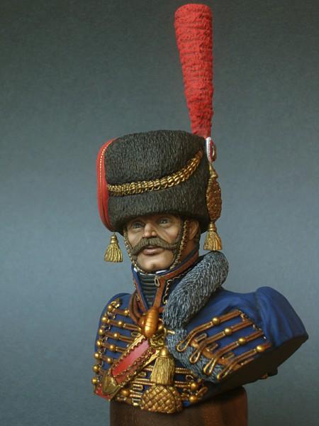 """Работа Константина Капитонова. """"Капитан гвардейской конной артиллерии, Франция, 1810 г."""". (6 фото)"""