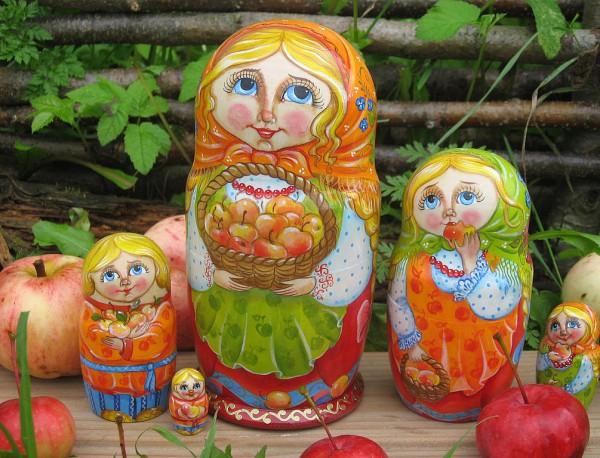 Русская матрёшка. Часть 2. Технология изготовления. (11 фото)
