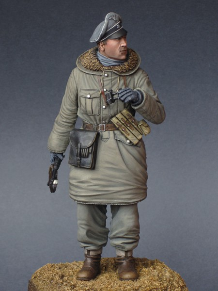 """Работа Константина Капитонова. """"Офицер Ваффен-СС, 1943-45 г."""". (8 фото)"""