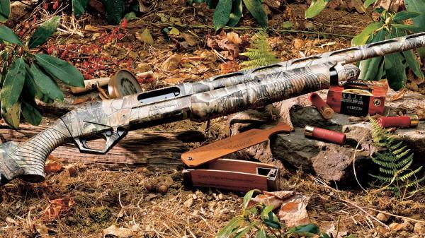 Обращение с ружьем на охоте.