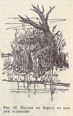 Подсадная утка и охота с ней. Постройка шалаша.
